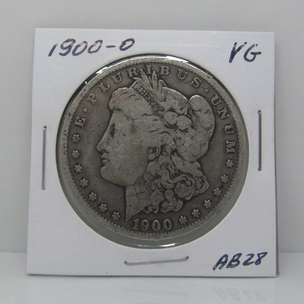 1900-O Morgan Dollar - Very Good #AB28