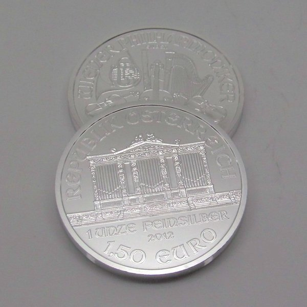 2-Coin Set: Austrian Silver Philharmonic - Uncirculated