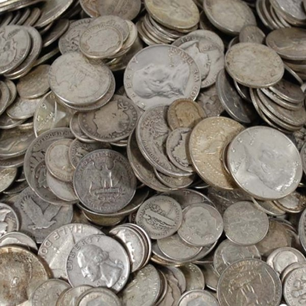 $50 Face Value of 90% Silver Coins