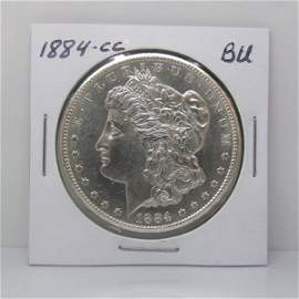 1884-CC $1 Morgan Dollar - Uncirculated
