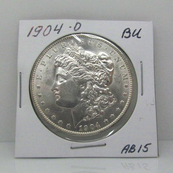 1904-O Morgan Dollar - Uncirculated #AB15