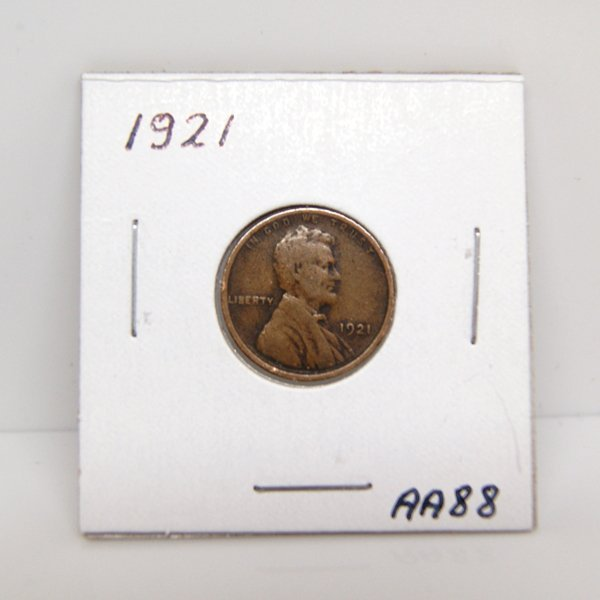 1921 Lincoln Wheat Cents #AA88