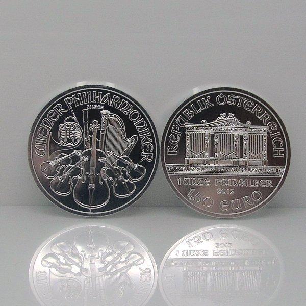 1 Oz BU Silver Austrian Vienna Philharmonic