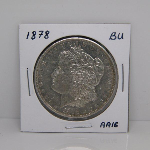 1878-S Morgan Dollar - Uncirculated #AA16