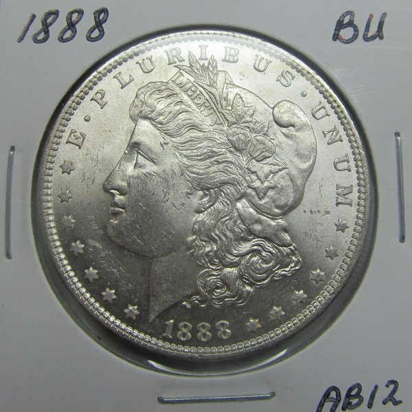 1888 Morgan Dollar - Uncirculated #AB12