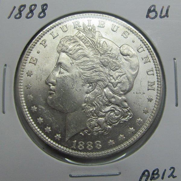 1888 Morgan Dollar - Uncirculated #AB12