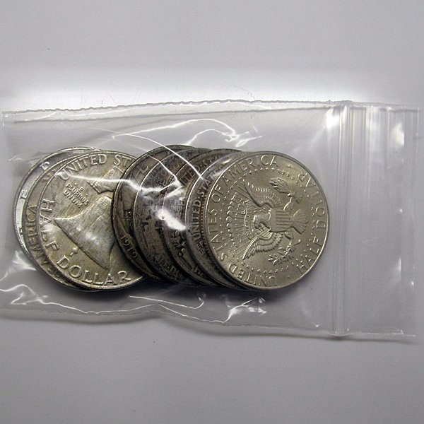 $5 Face Value of 90% Silver - Only Halves