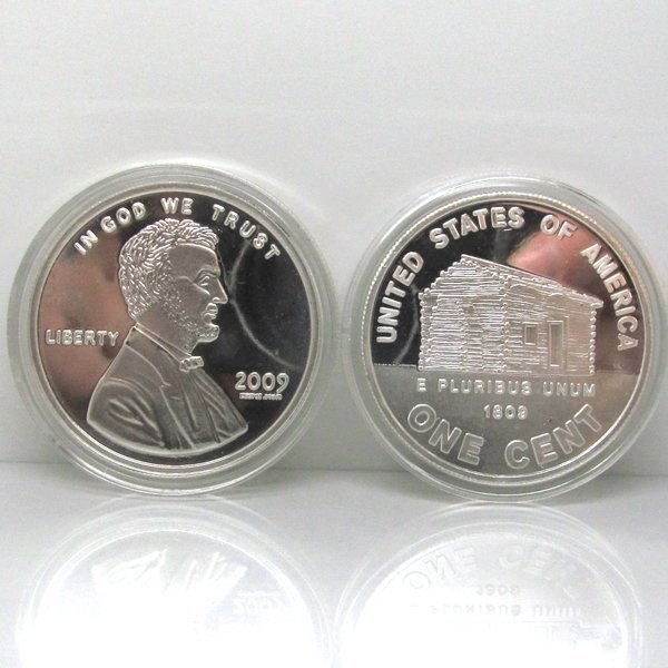 2009 Lincoln Cent Birthplace .999 Silver Round