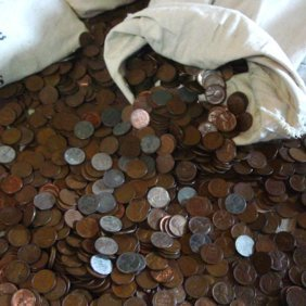 100 pc Bag of Lincoln Wheat Cents
