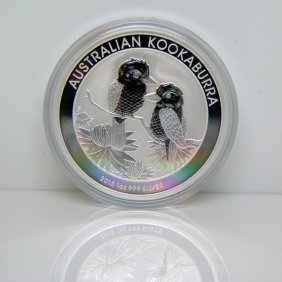 2013-P 1 Oz Silver Kookaburra - Uncirculated