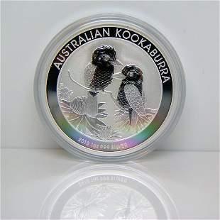 2013-P 1 Oz Silver Kookaburra - Uncirculated