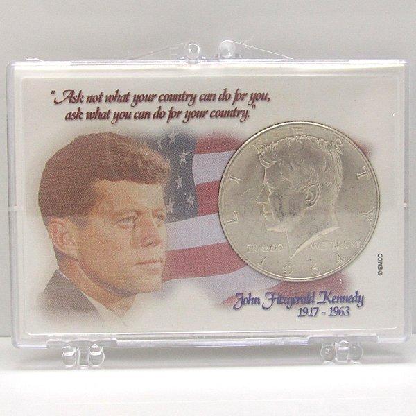 90% Silver Kennedy Half Dollar w/Snap Lock #2