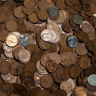 200 pc Bag of Lincoln Wheat Cents
