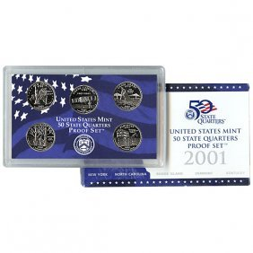 2001-S United States Quarter 5-Coin Proof Set