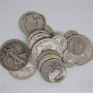 $4 Face Value of 90% Silver Coins