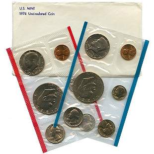 1976 United States Mint Coin Set