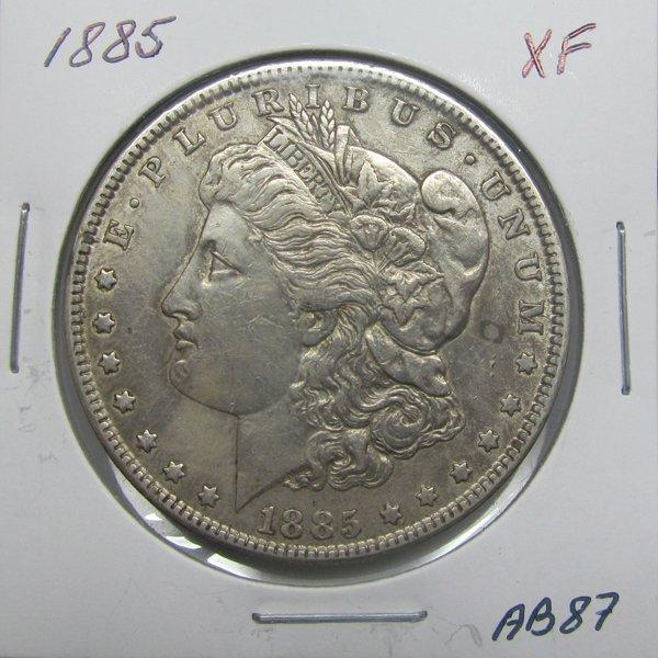 1885 Morgan Dollar - Extra Fine #AB87