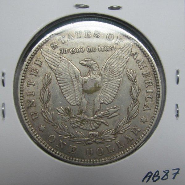1885 Morgan Dollar - Extra Fine #AB87 - 2