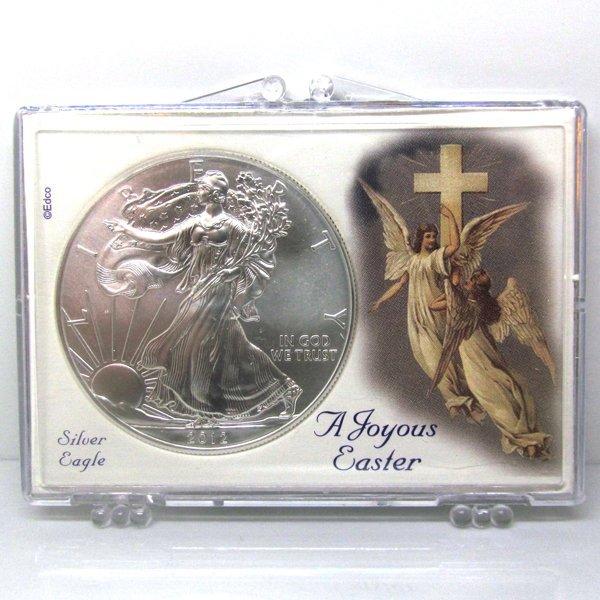 BU Silver Eagle - Easter Angel Snap Lock