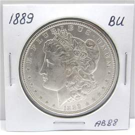 1889 Morgan Dollar - Uncirculated #AB88
