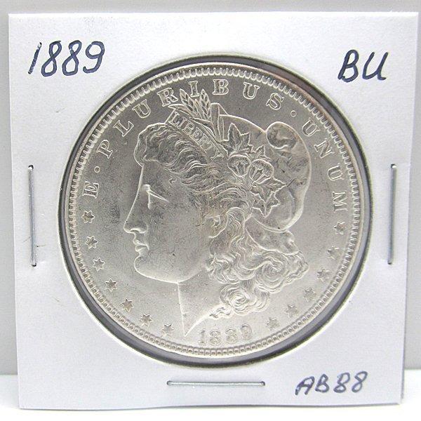 1889 Morgan Dollar - Uncirculated #AB88