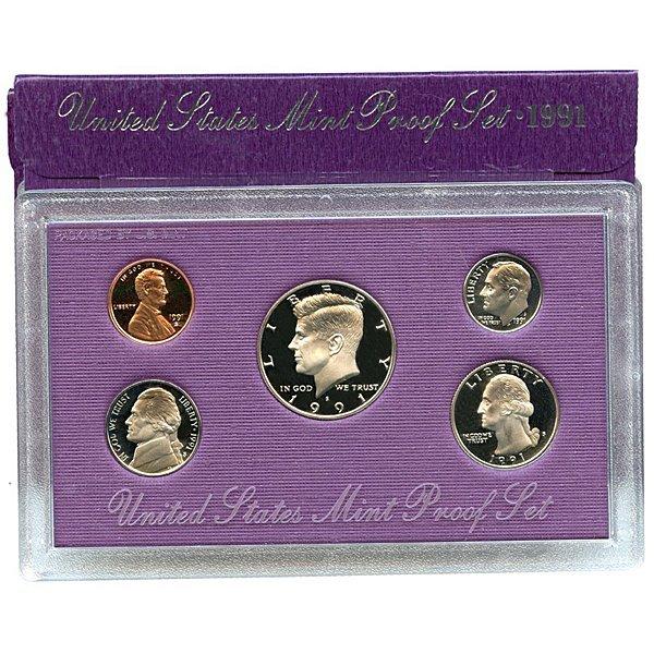 1991-S United States Proof Mint Set