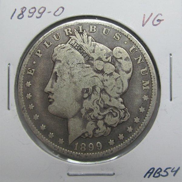 1899-O Morgan Dollar - Very Good #AB54