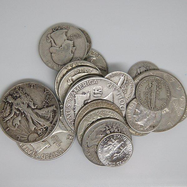 90% Silver Coins $4 Face Value