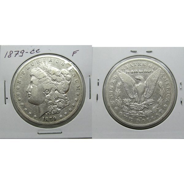1879-CC $1 Morgan Dollar - Fine