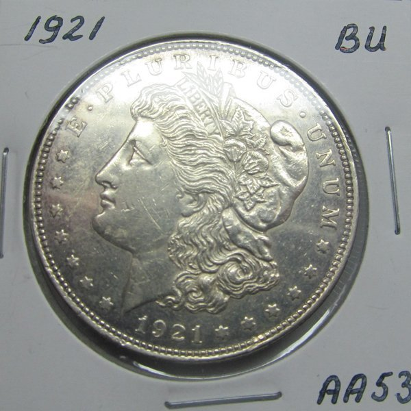 1921 Morgan Dollar - Uncirculated #AA53