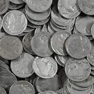 (200) Buffalo Nickel - Full Date