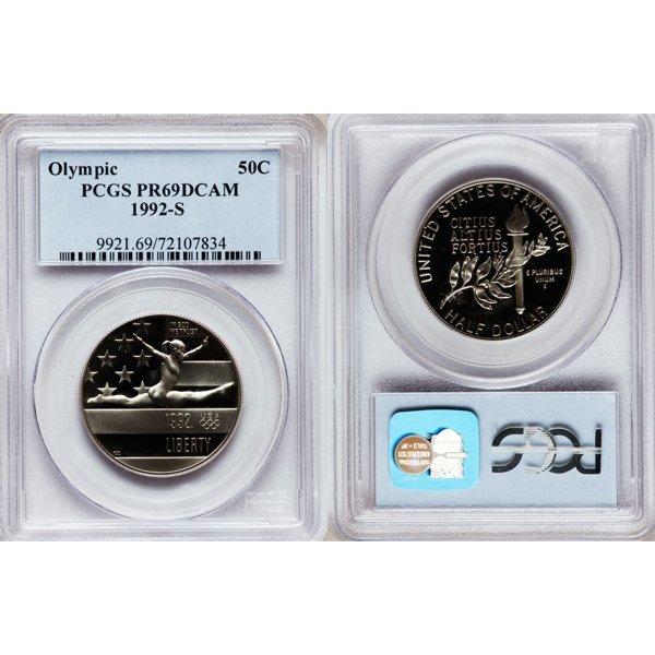 1992-S Olympic Half Dollar PR69 DCAM PCGS