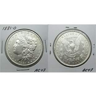 1881-O Morgan Silver Dollar - #AC47