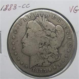 1883-CC $1 Morgan Dollar - Very Good