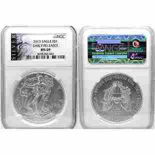 2013 Eagle Early Releases MS69 NGC - ALS Label