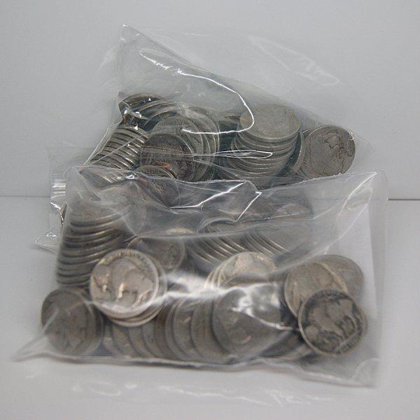 (150) Buffalo Nickel - No Date