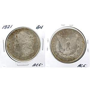 1921 Morgan Dollar - Uncirculated #AC61