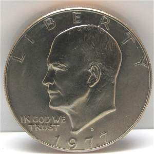 1977-D Eisenhower Ike Dollar Clad Uncirculated