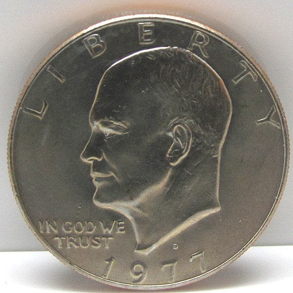1977-D Eisenhower Ike Dollar Clad Uncirculated