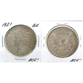 1921 Morgan Dollar - Uncirculated #AC64