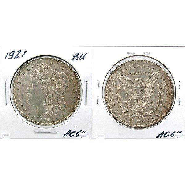 1921 Morgan Dollar - Uncirculated #AC64