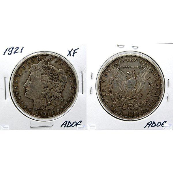 1921 Morgan Dollar - Extra Fine #AD06