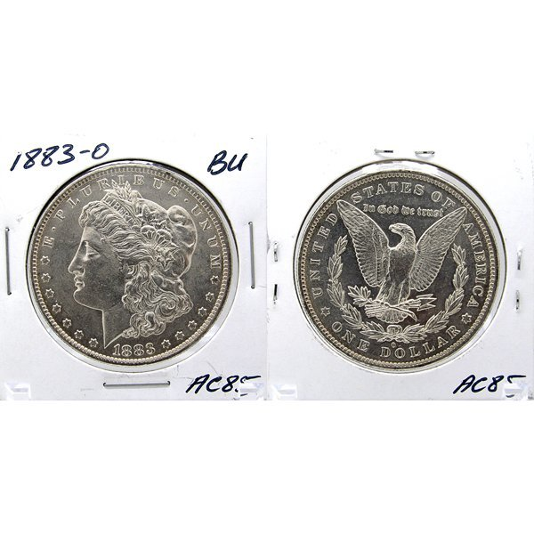 1883-O Morgan Dollar - Uncirculated #AC85
