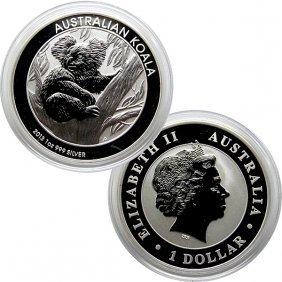 2013-P 1 Oz Australia Silver Koala - Uncirculated