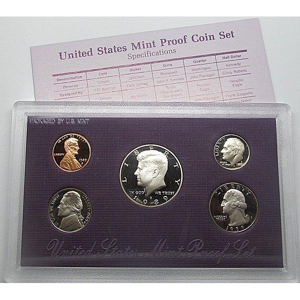 1989-S United States Proof Mint Set