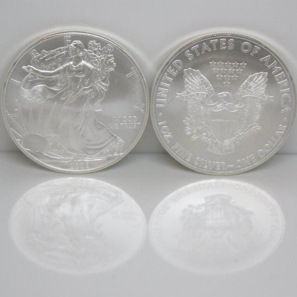 1 Oz Silver American Eagle - Brilliant Uncirculated