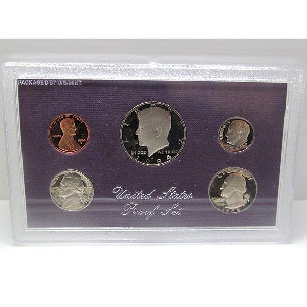 1984-S United States Proof Mint Set