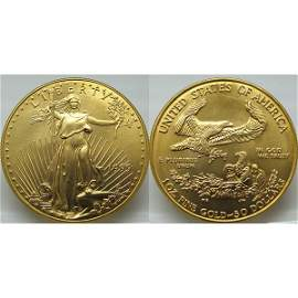 1 Oz Gold American Eagle - Brilliant Uncirculated