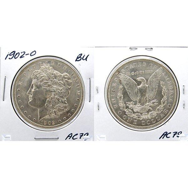 1902-O Morgan Dollar - Uncirculated #AC79