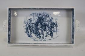 1881 Rare Wedgwood Ivanhoe Pattern Ice Cream Tray